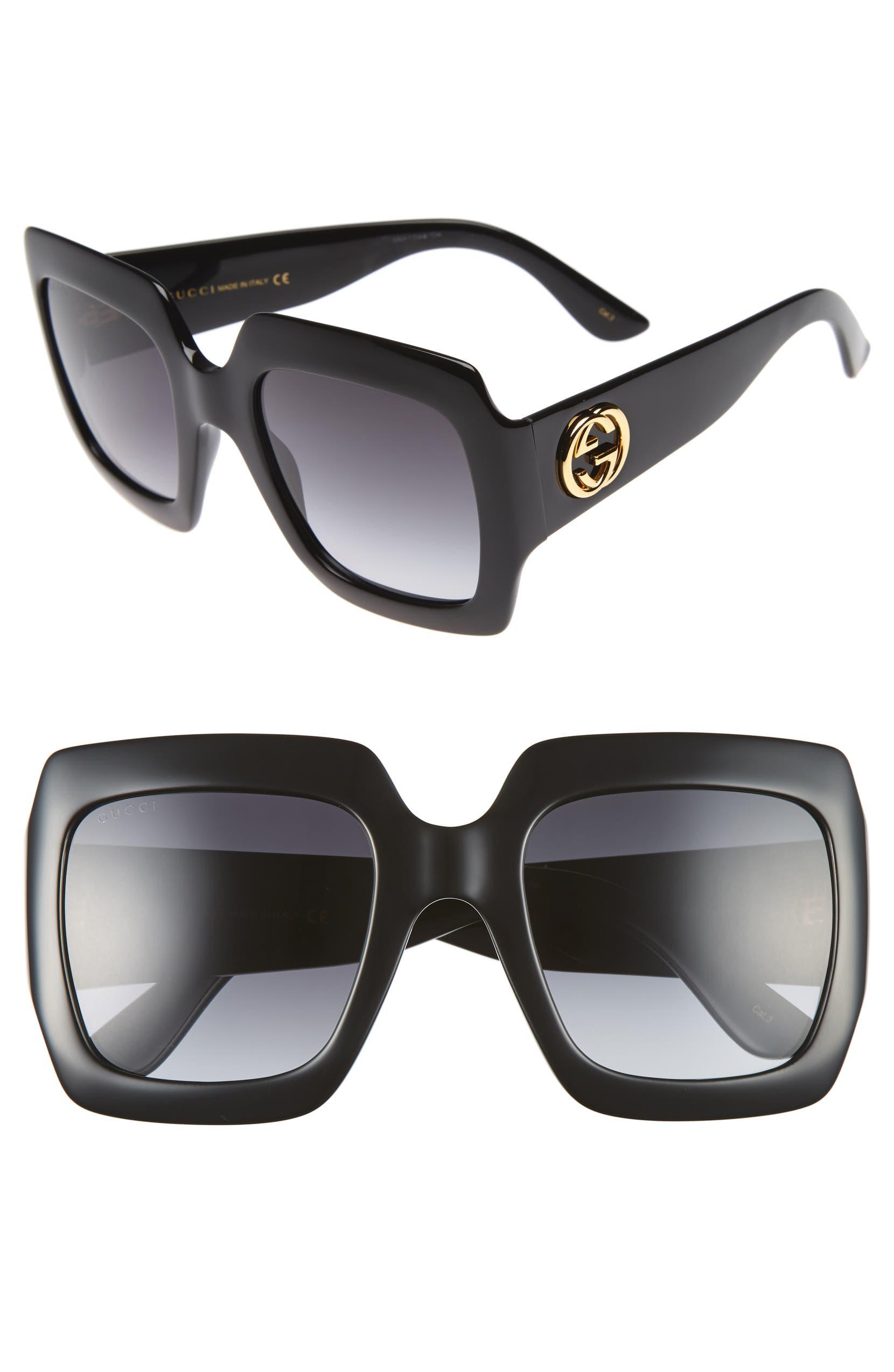 5a25a1d2165 54mm Square Sunglasses