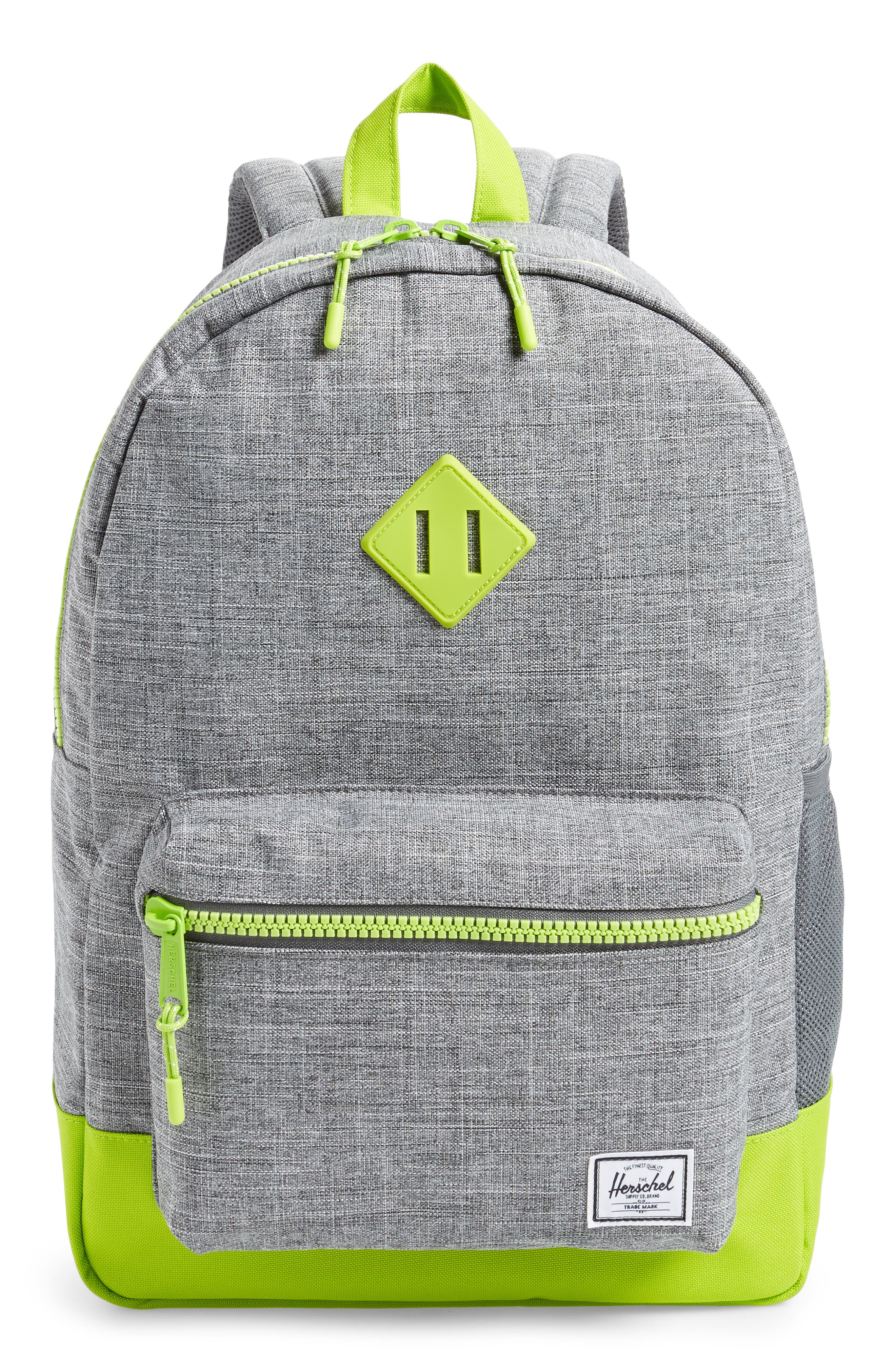 Girls Herschel Supply Co Extra Large Heritage Backpack  Green