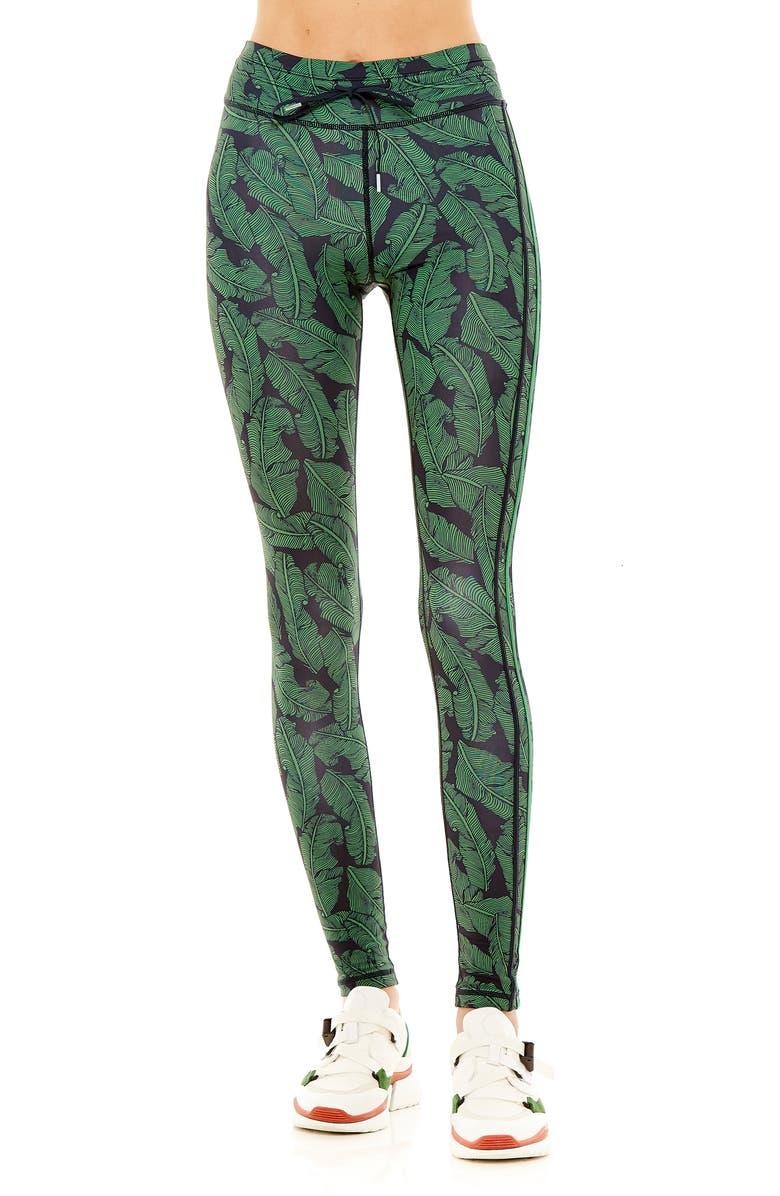 The Upside Palm Leaf Yoga Pants