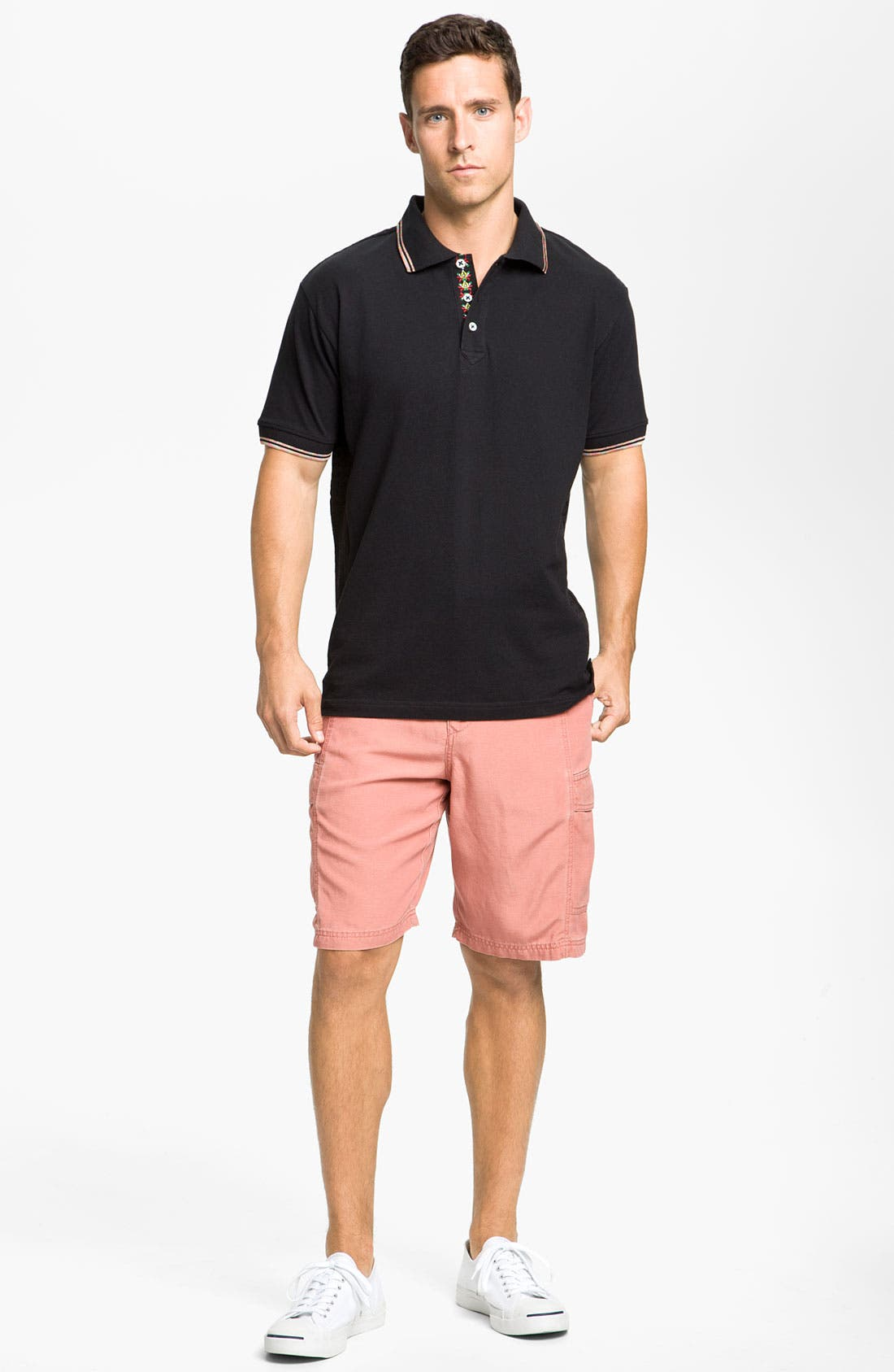 ,                             'Key Grip' Relaxed Fit Cargo Shorts,                             Alternate thumbnail 30, color,                             801
