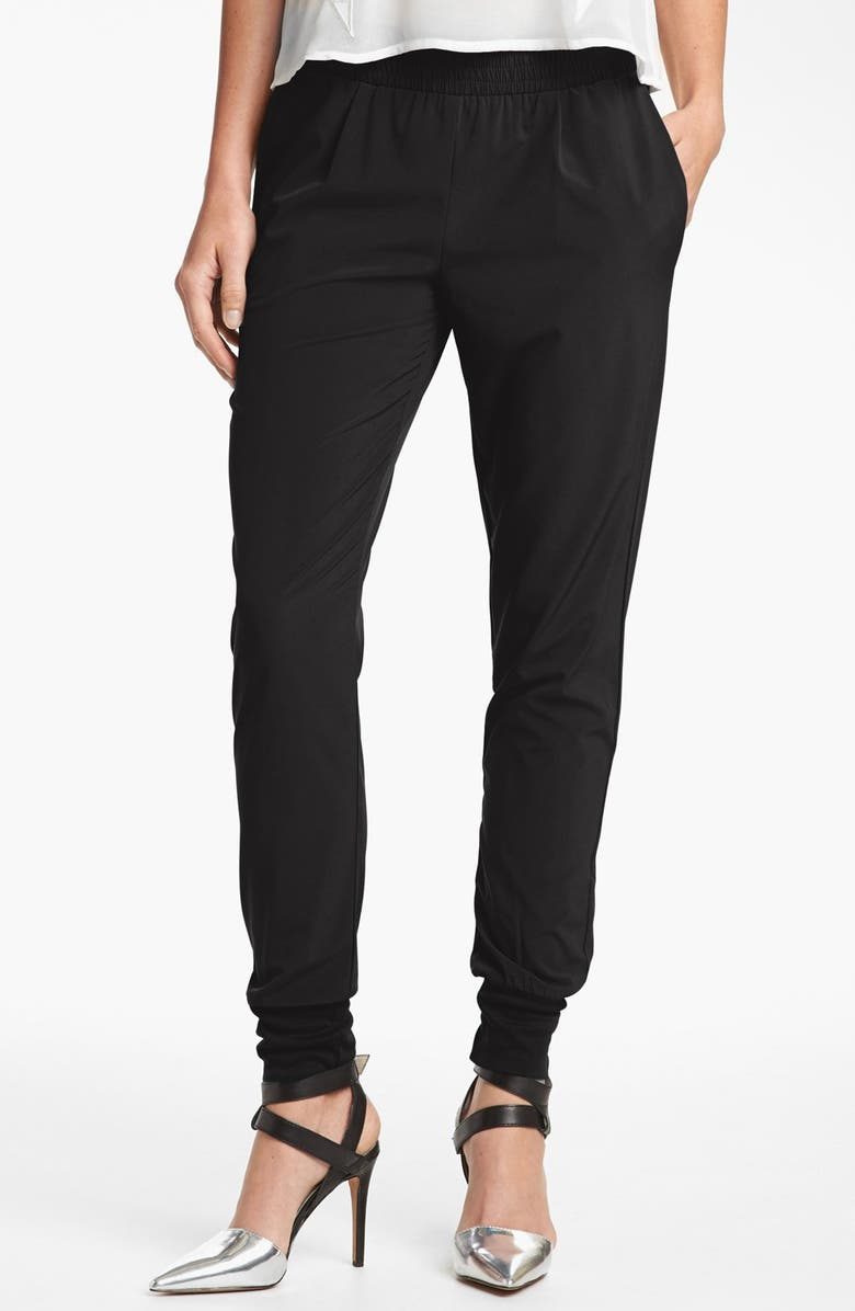 WAYF Track Pants, Main, color, 001