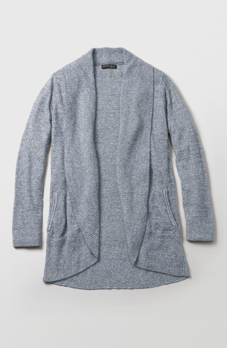 Come discover these Over 50 Fashion: Running Errands Comfy Cute Pieces!  Cozy Chic Circle Cardigan, in GRAPHITE. #fashionover50