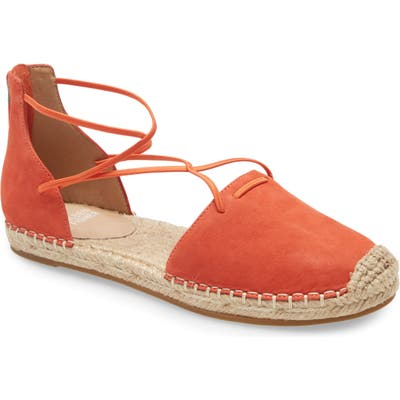 Eileen Fisher Lace Espadrille, Orange
