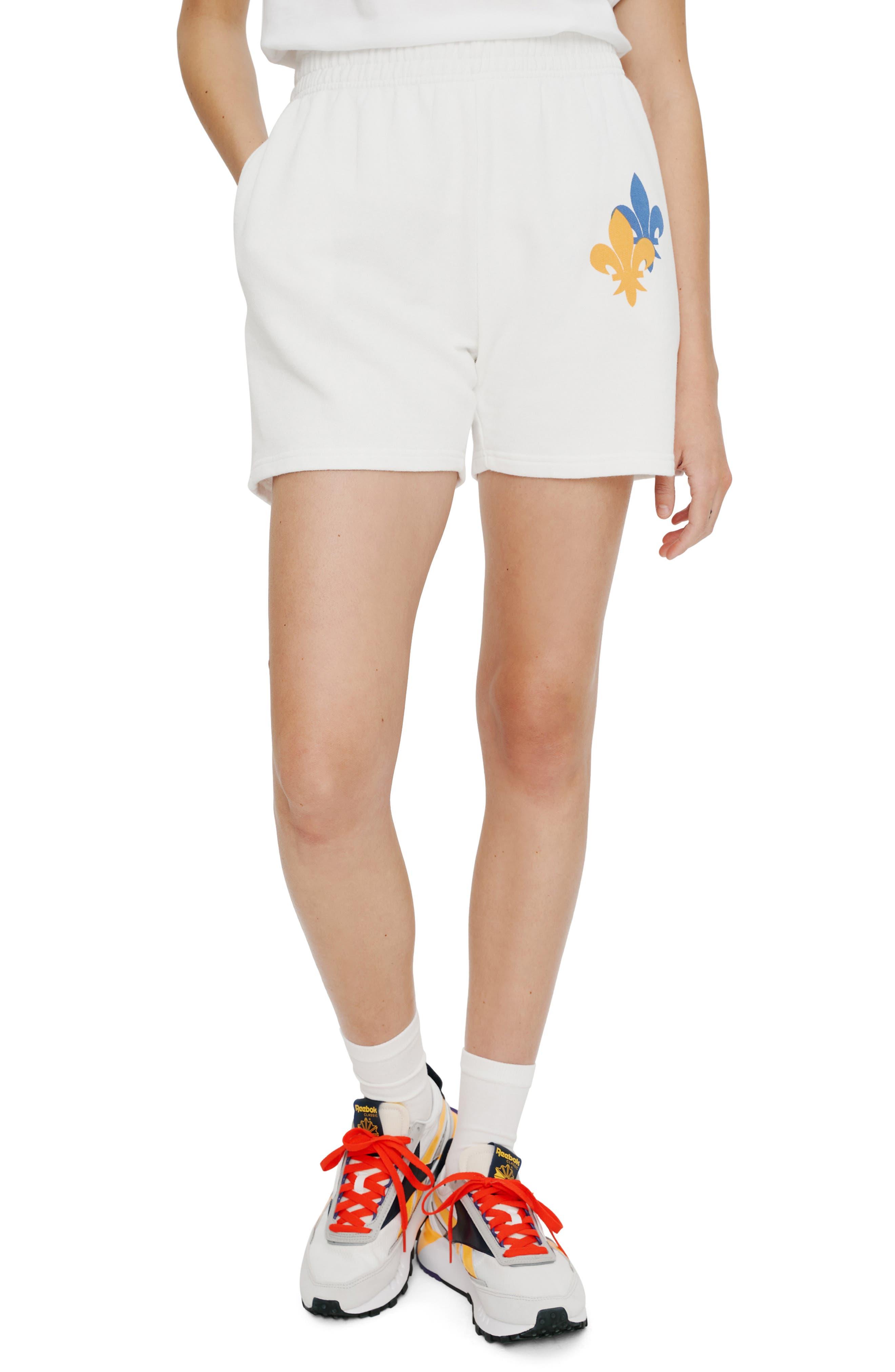 Fleur De Lis Fleece Shorts