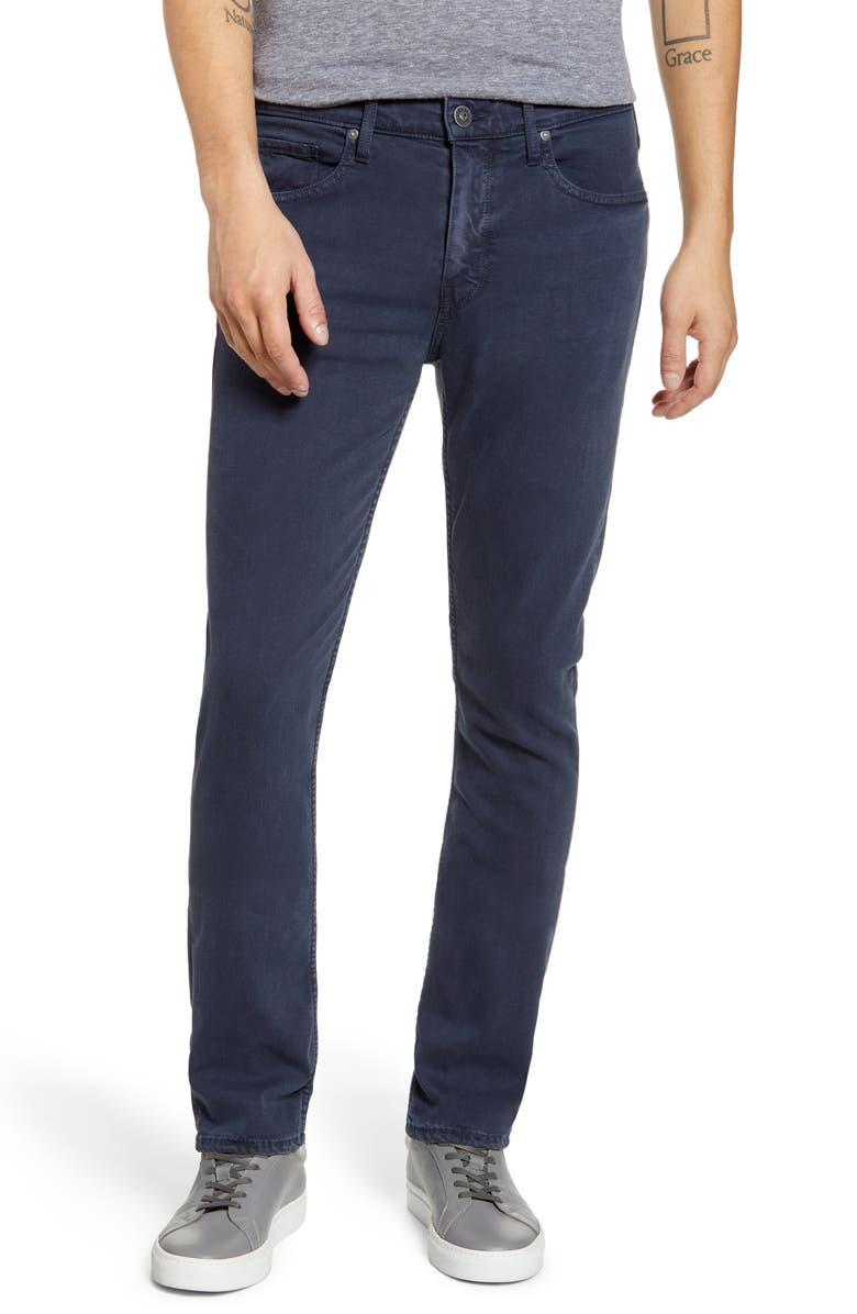 PAIGE Transcend Federal Slim Straight Leg Jeans, Main, color, VINTAGE NAVAL BLUE