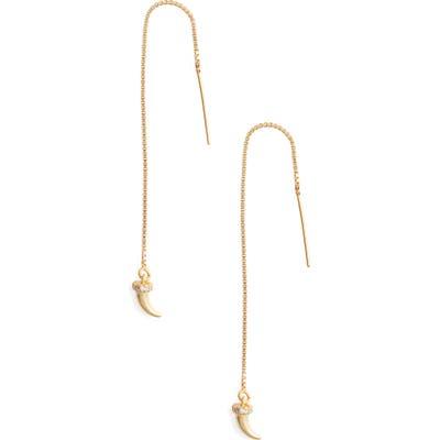 Marida Horn Threader Earrings