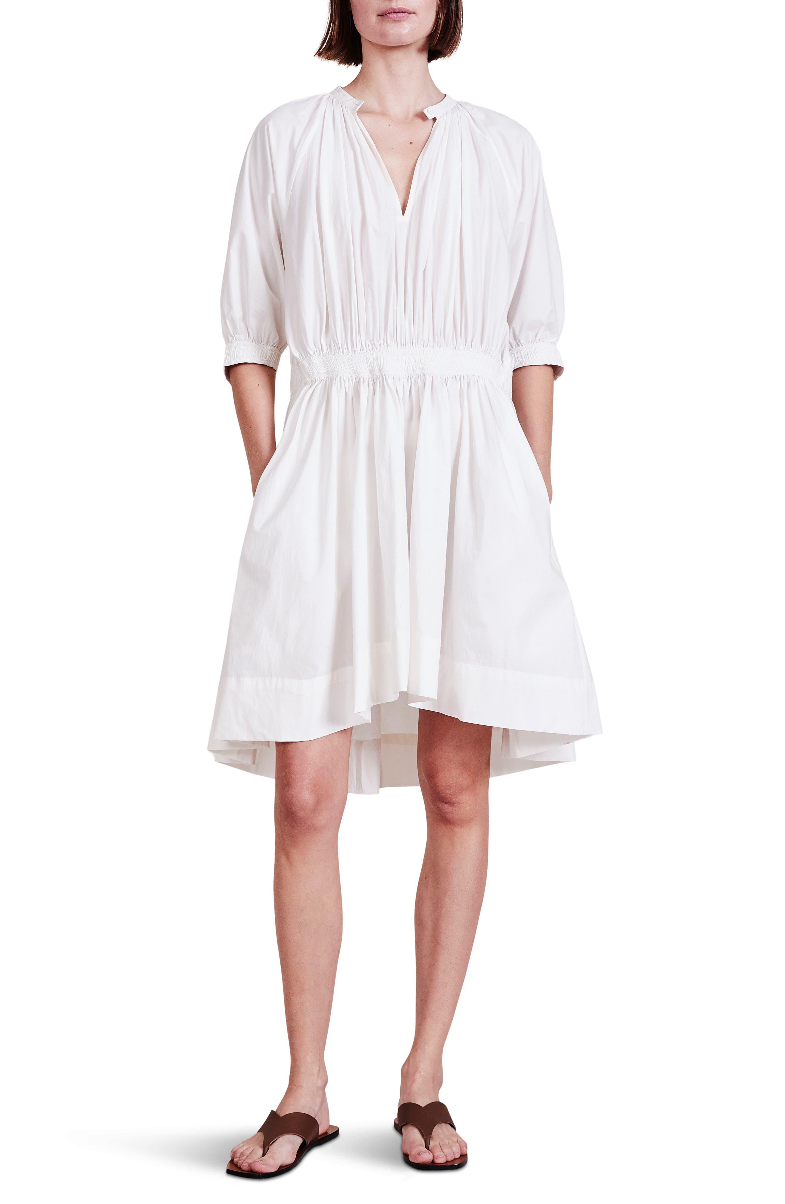 Cobano Organic Cotton High-Low Dress