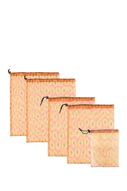 Image of MYTAGALONGS Papaya Produce Bags - Set of 5