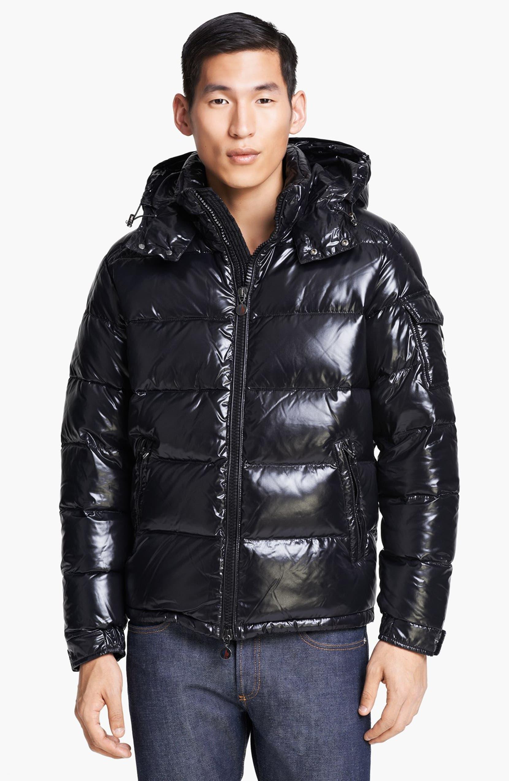 9fc6741e120 Moncler 'Maya' Shine Down Jacket | Nordstrom
