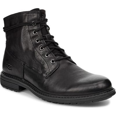 UGG Morrison Plain Toe Boot- Black