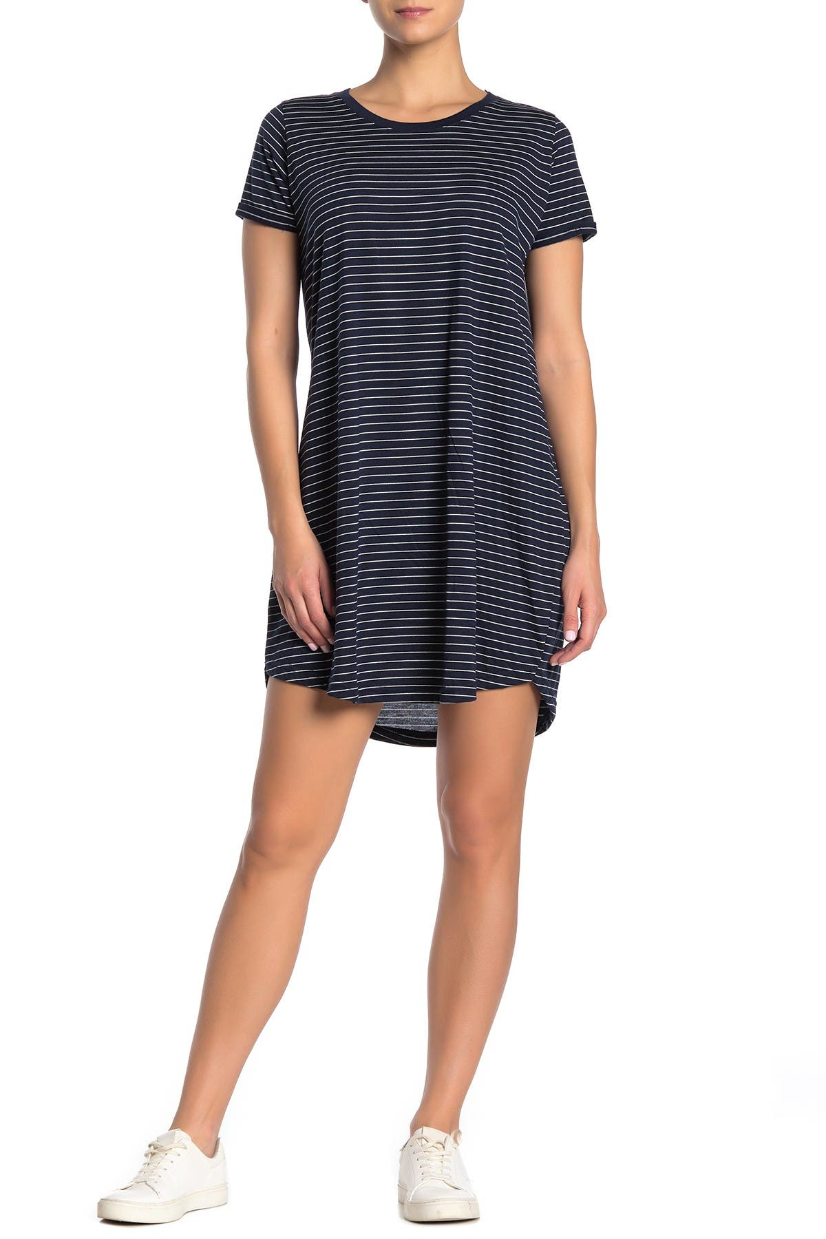 Image of Cotton On Tina Stripe T-Shirt Dress