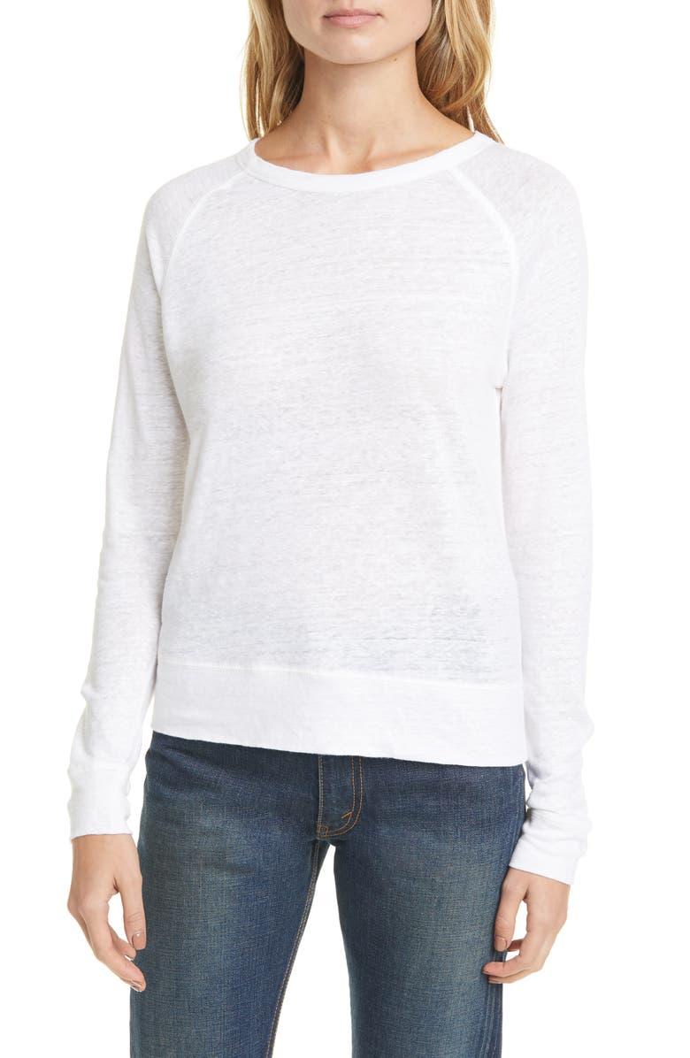 VINCE Linen Sweater, Main, color, 137