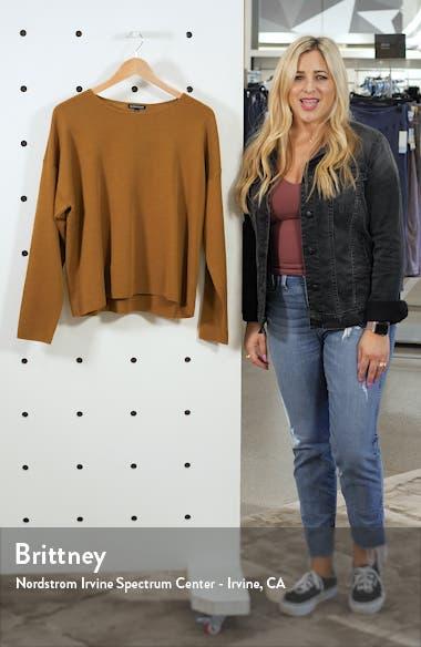 Crewneck Merino Wool Top, sales video thumbnail