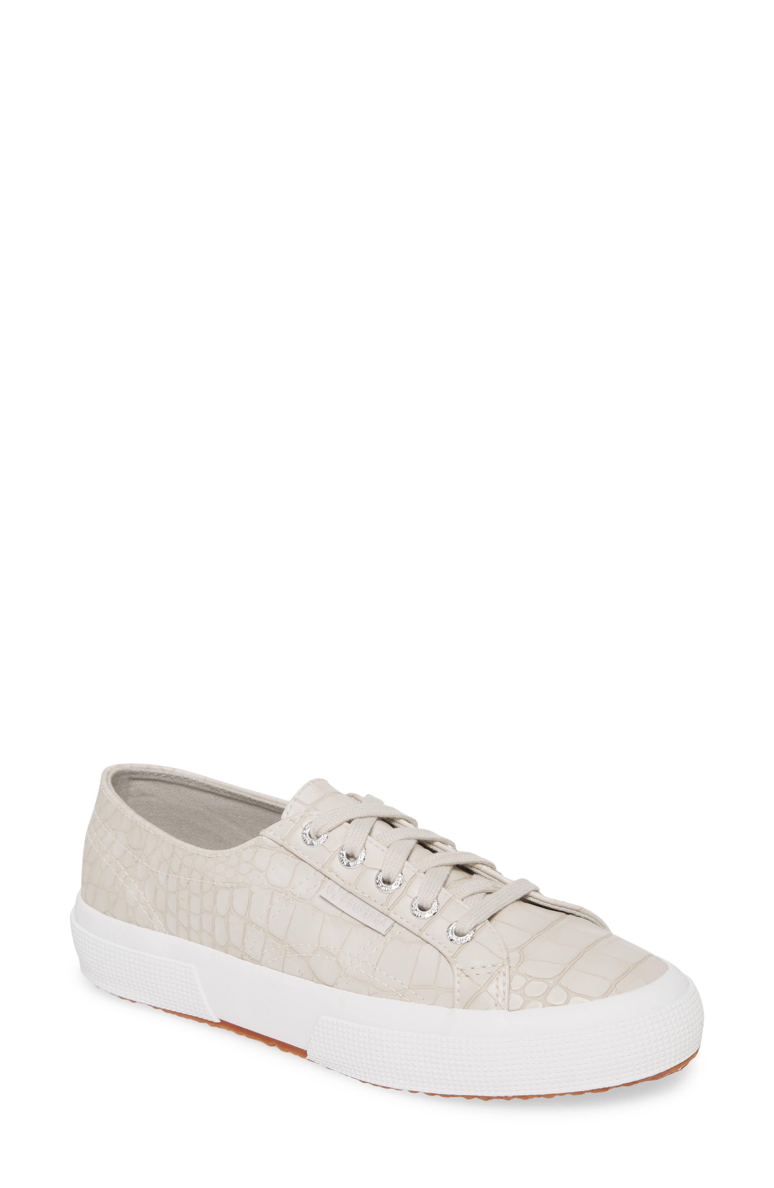 Superga | Croc Embossed Sneaker