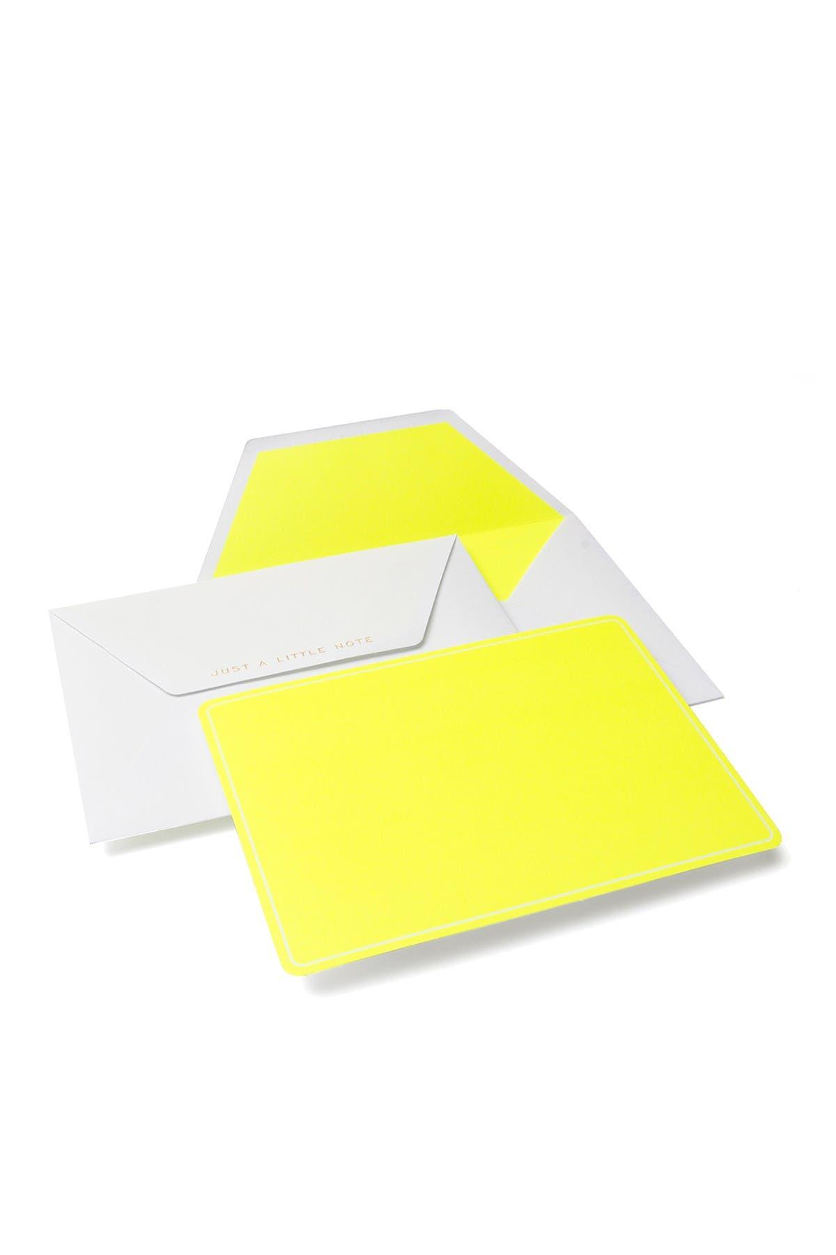 Image of GARTNER STUDIOS Neon Notecards - 60-Count
