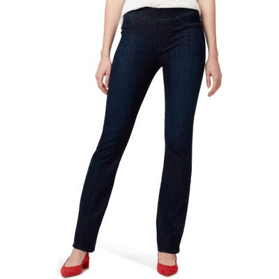 Sanctuary Uplift Pull-On Demi Boot Jeans, Blue