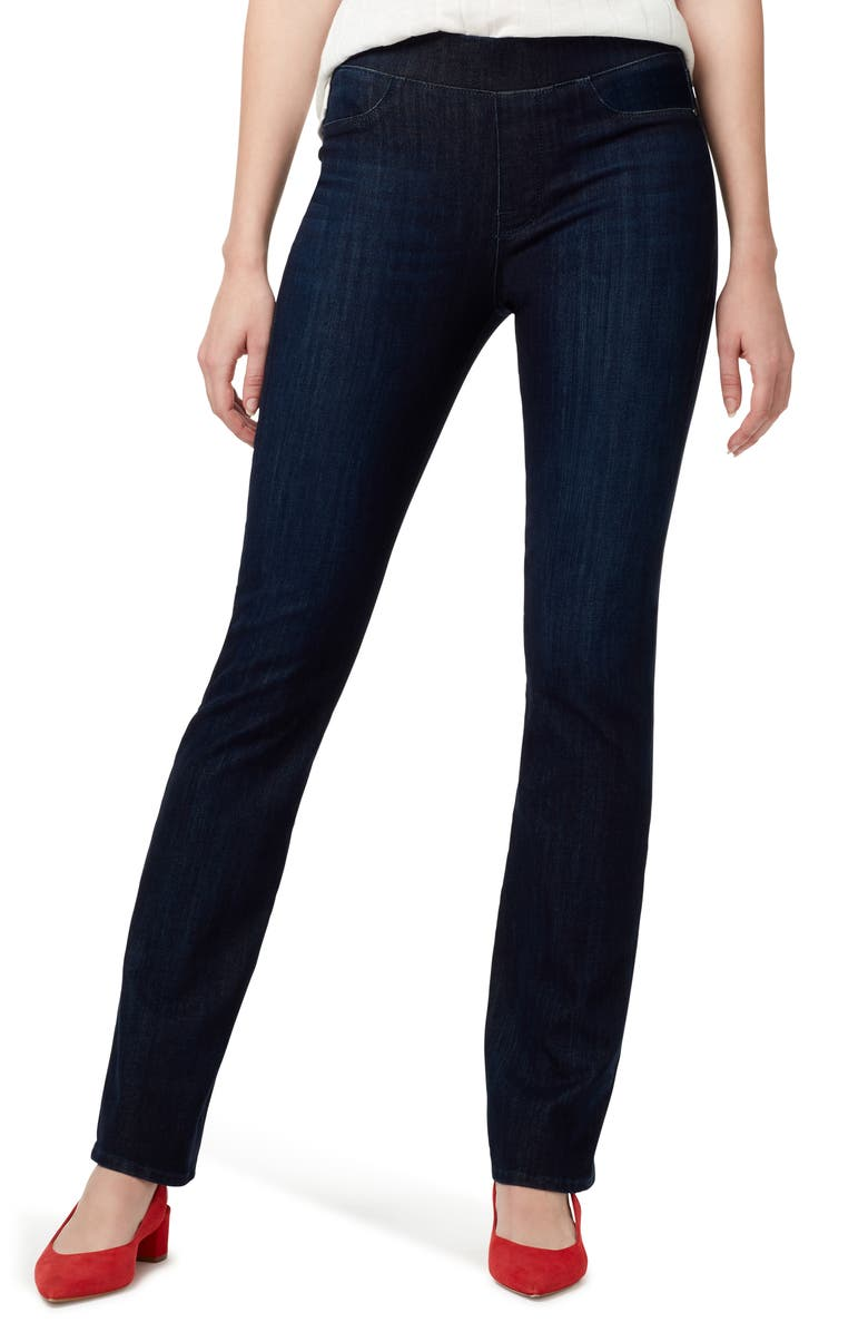 SANCTUARY Uplift Pull-On Demi Boot Jeans, Main, color, SEASTONE