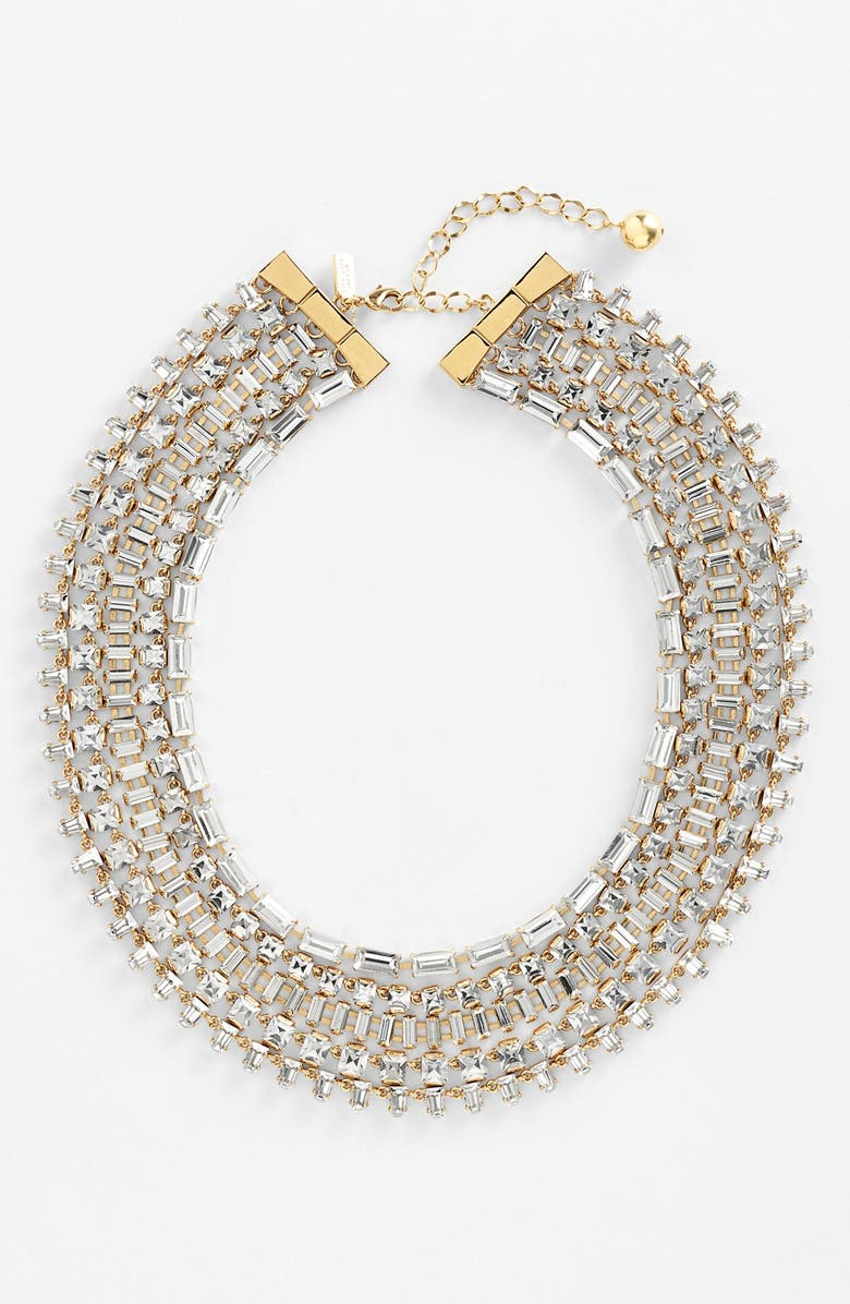 KATE SPADE NEW YORK 'vegas jewels' multistrand necklace, Main, color, 710