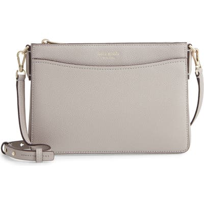 Kate Spade New York Margaux Medium Convertible Crossbody Bag - Grey