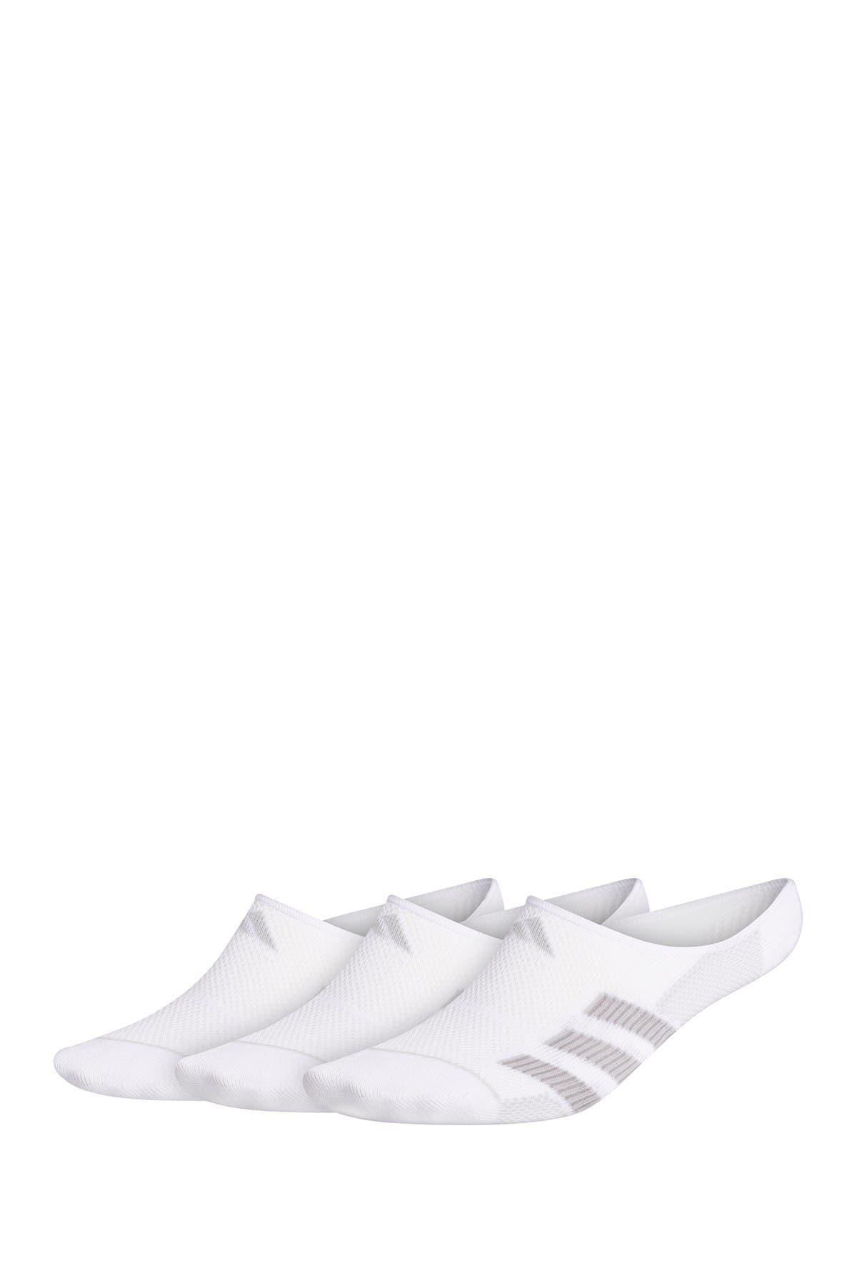 Image of adidas Superlite Super No Show Stripe Socks - Pack of 3