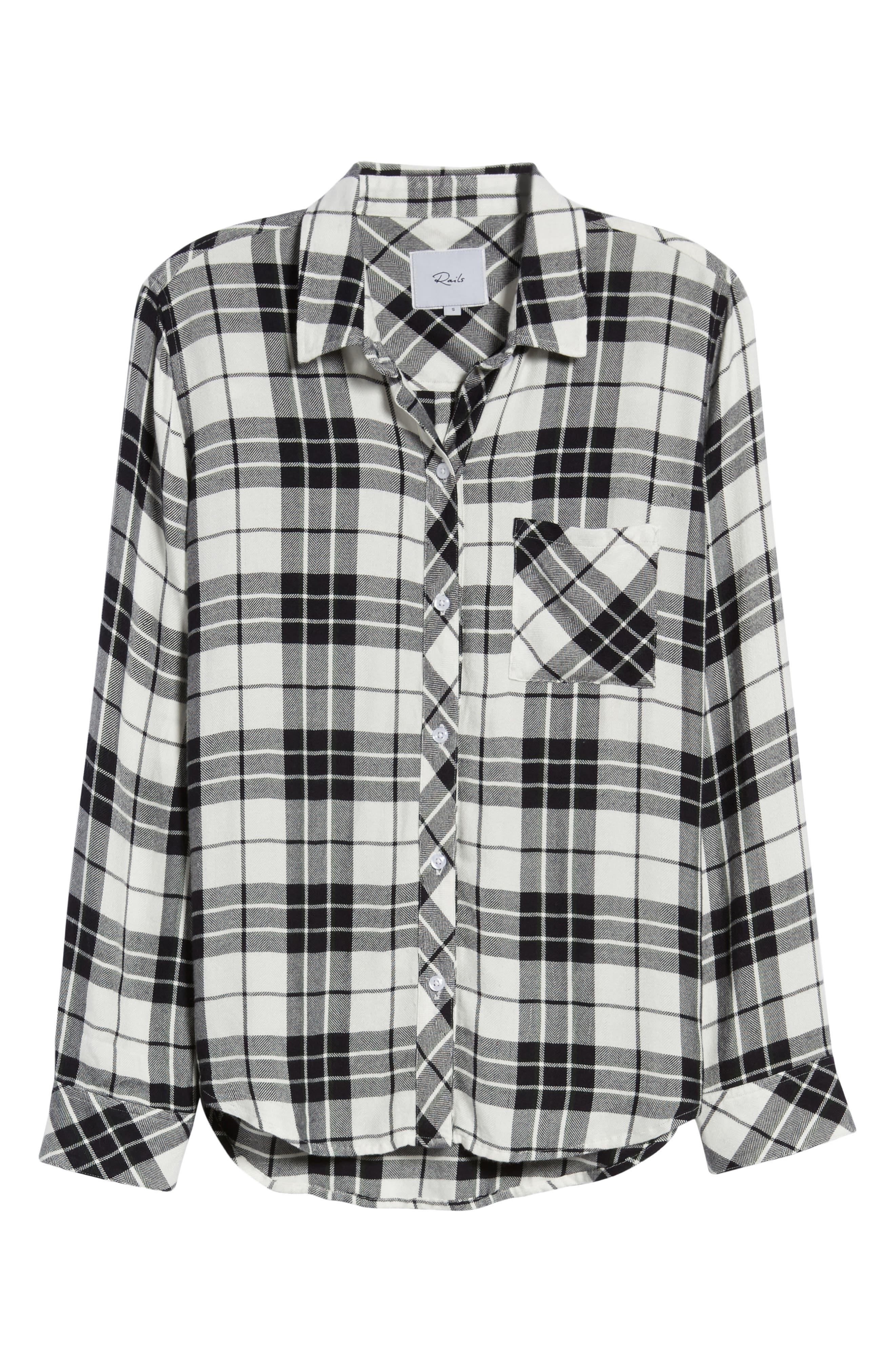 ,                             Hunter Plaid Shirt,                             Alternate thumbnail 497, color,                             005