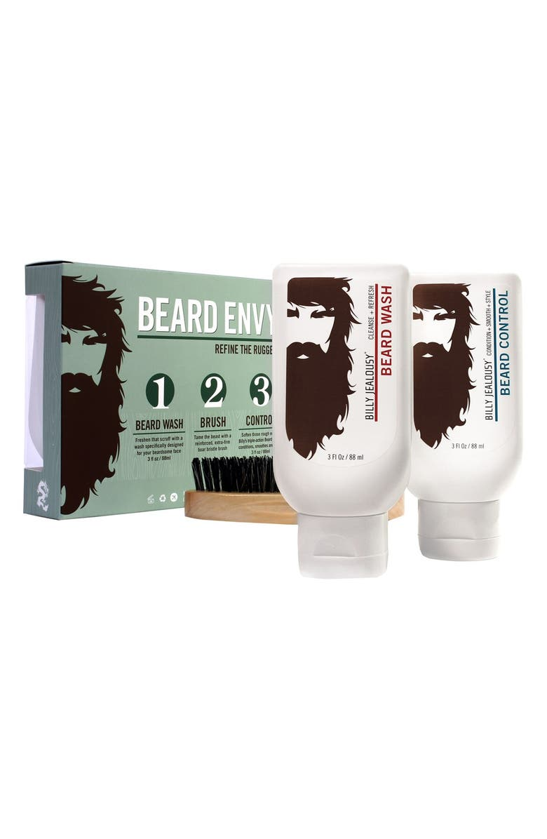 BILLY JEALOUSY Beard Envy Kit, Main, color, 000