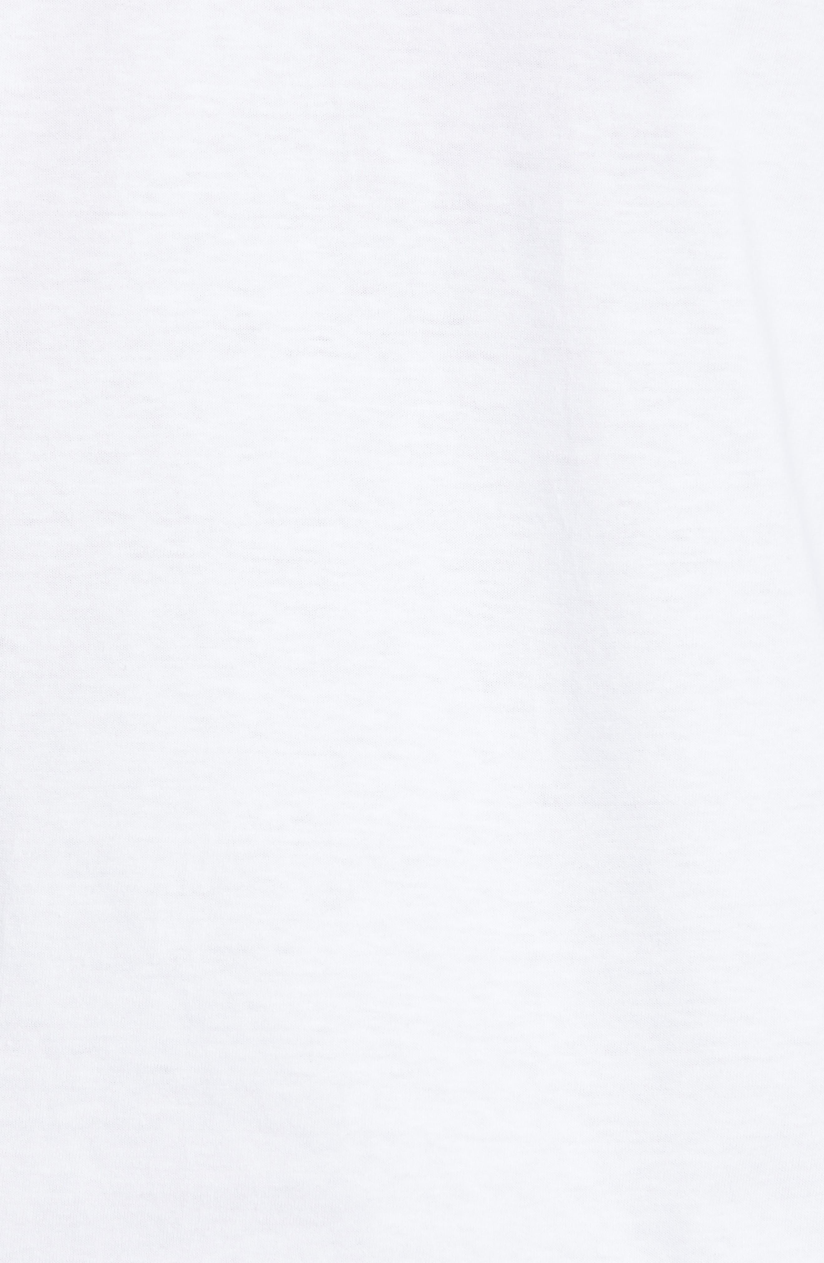 ,                             PLAY Logo Long Sleeve T-Shirt,                             Alternate thumbnail 5, color,                             WHITE