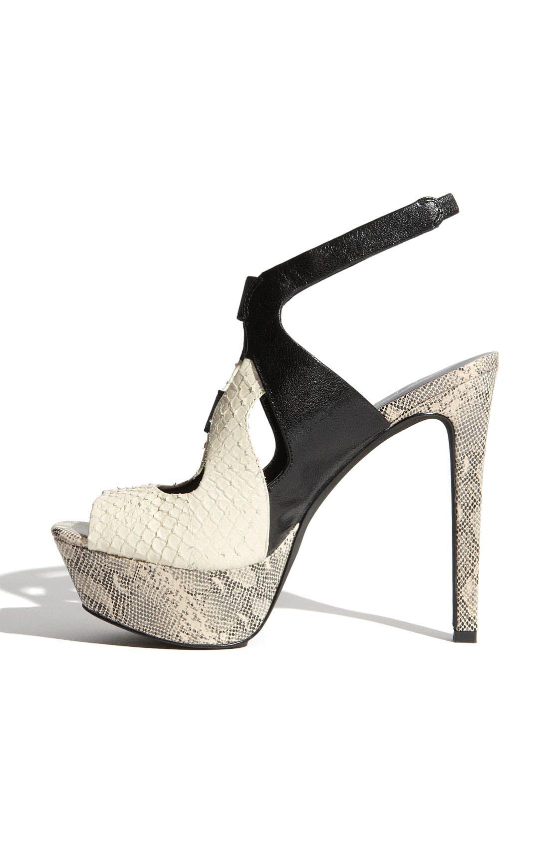,                             'Bendie' Platform Sandal,                             Alternate thumbnail 4, color,                             271