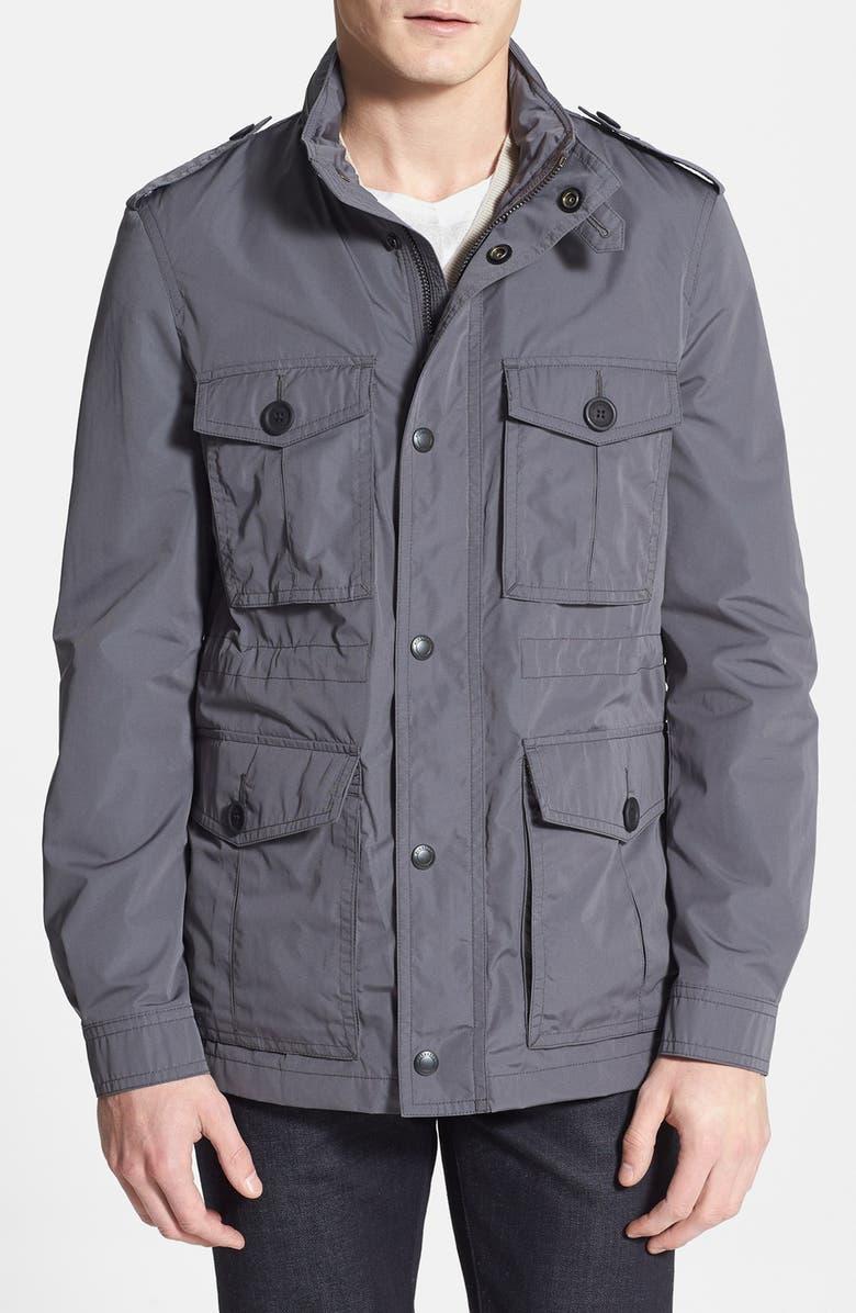 BURBERRY Brit 'Barkleigh' Military Jacket, Main, color, 054