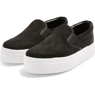 Topshop Platform Sneaker - Black