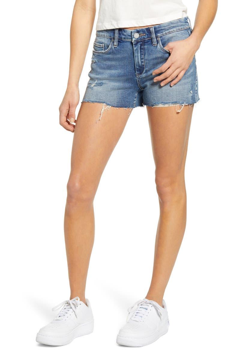 BLANKNYC Essex Cutoff Denim Shorts, Main, color, 427
