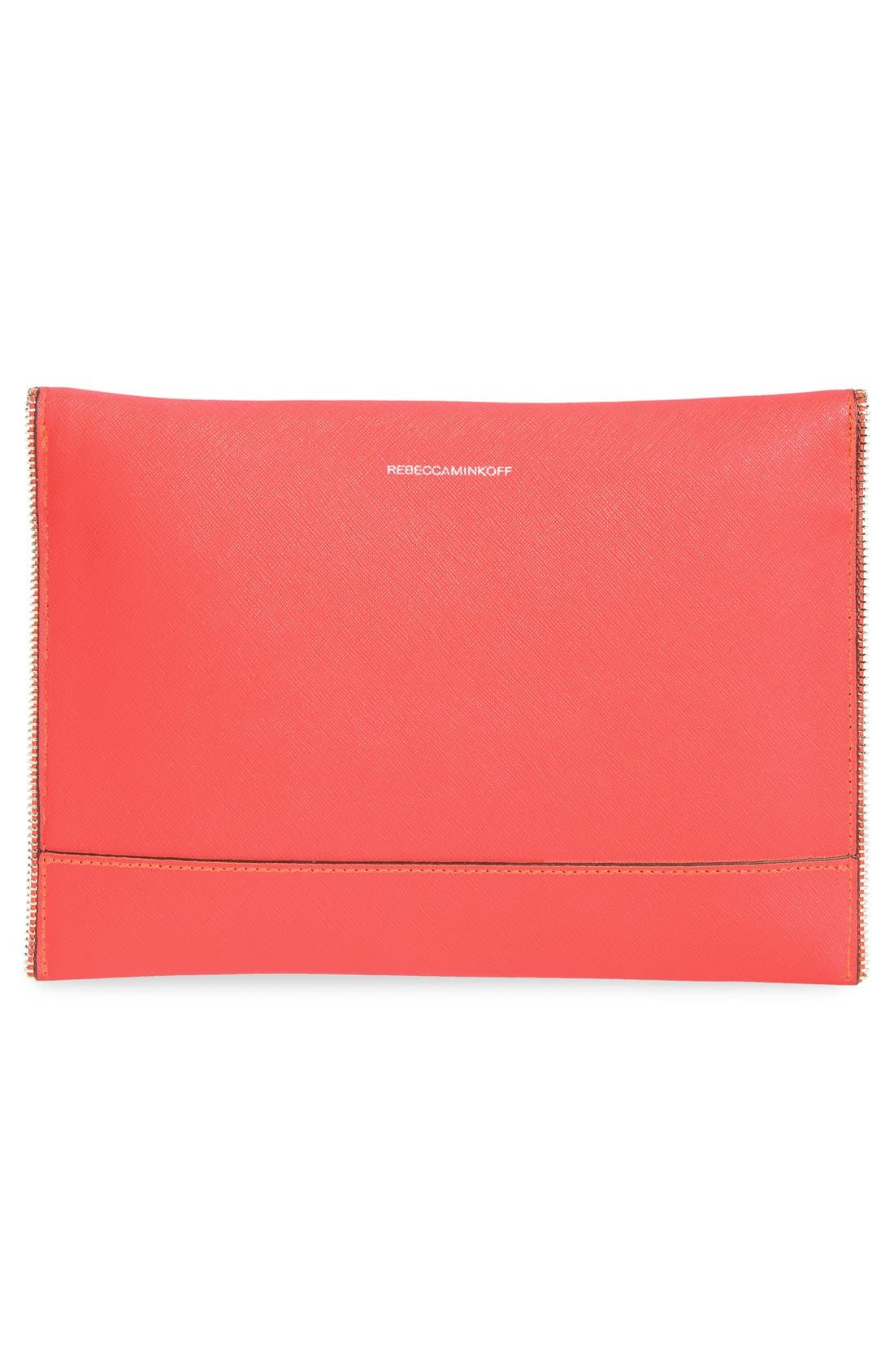 ,                             Leo Envelope Clutch,                             Alternate thumbnail 328, color,                             950