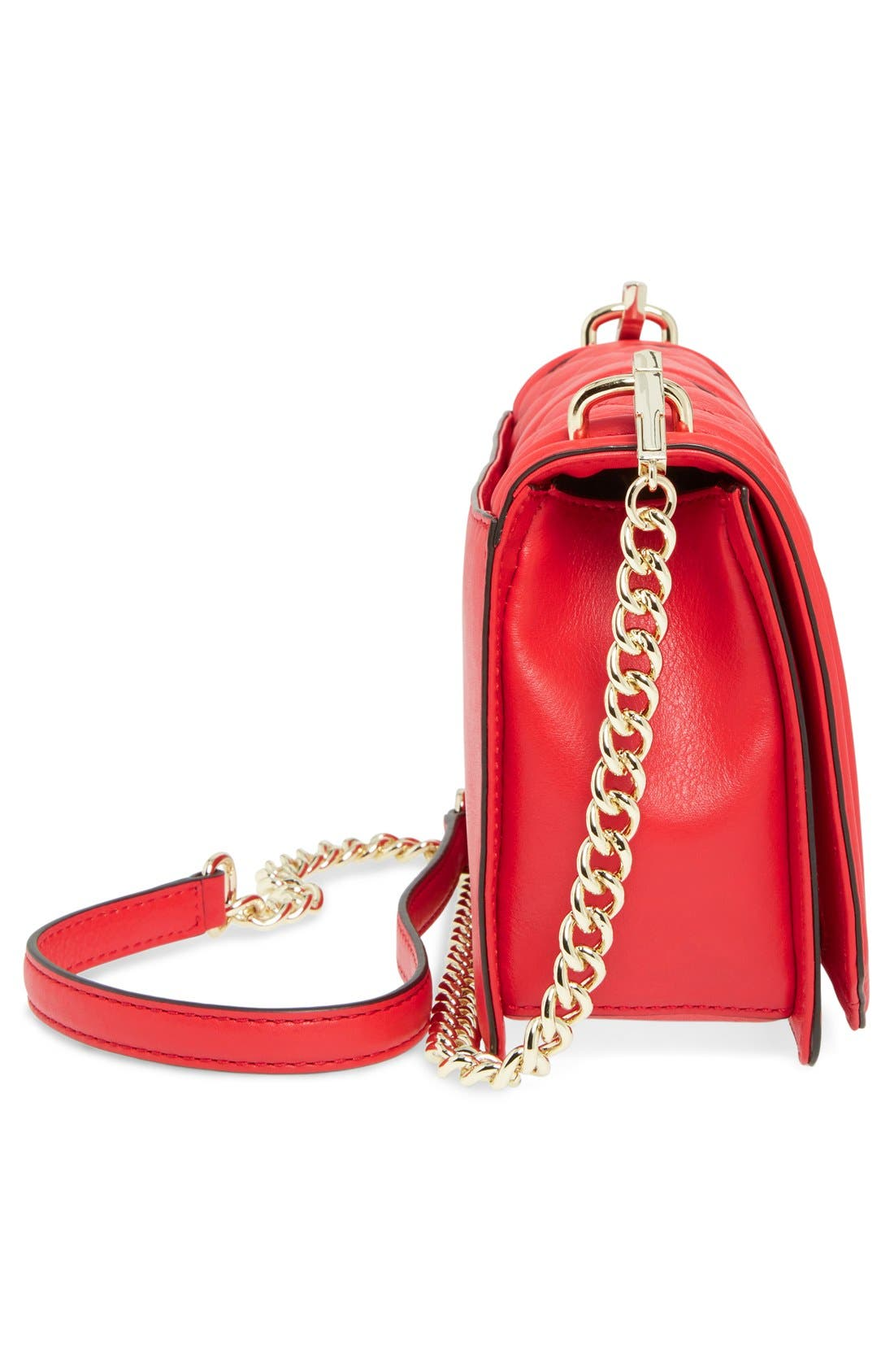 ,                             Love Leather Crossbody Bag,                             Alternate thumbnail 120, color,                             600