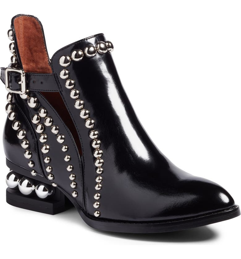 JEFFREY CAMPBELL Rylance Studded Bootie, Main, color, 001