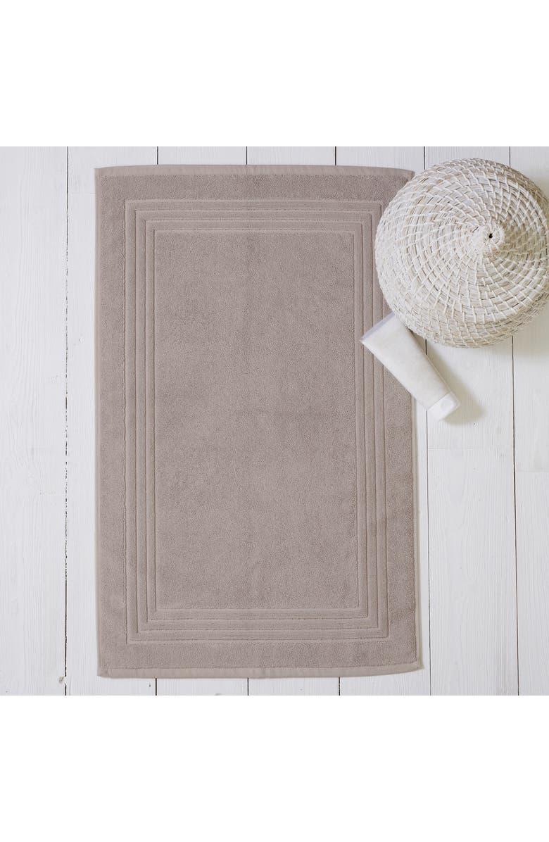 THE WHITE COMPANY Egyptian Cotton Bath Mat, Main, color, SMOKE
