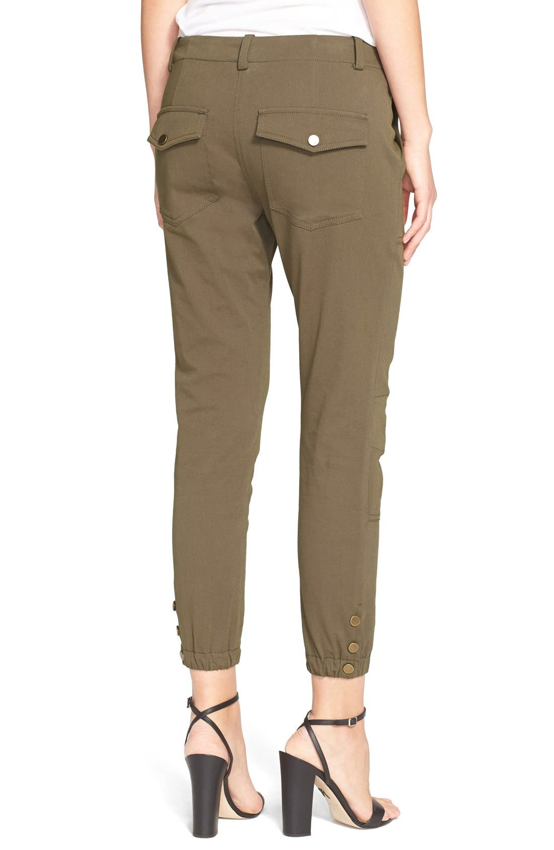 ,                             'Field' Cargo Twill Ankle Pants,                             Alternate thumbnail 7, color,                             300