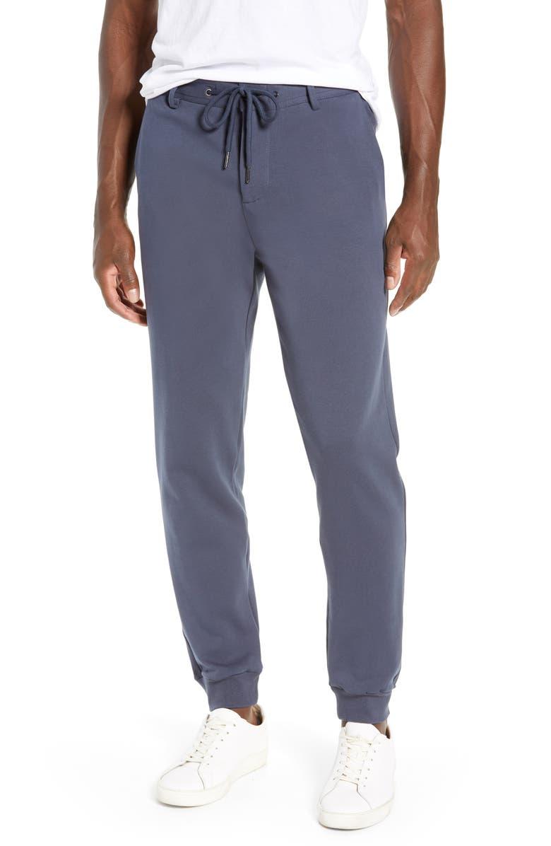 LIVERPOOL Mercer Knit Jogger Pants, Main, color, BLUE NIGHTS