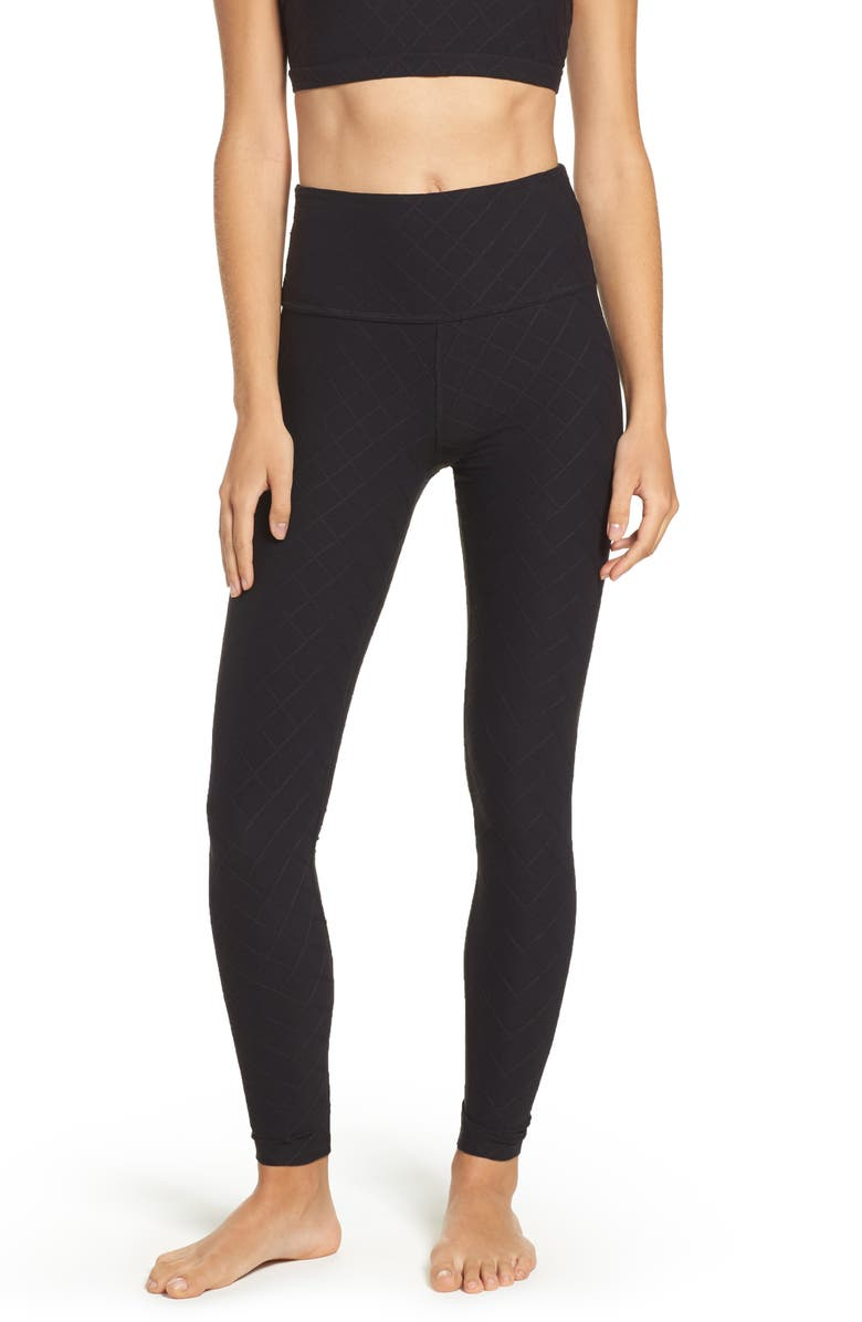2cde388230 Beyond Yoga Can't Quilt You High Waist Leggings | Nordstrom
