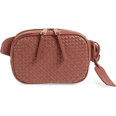 Sole Society Ady Faux Leather Belt Bag - Pink
