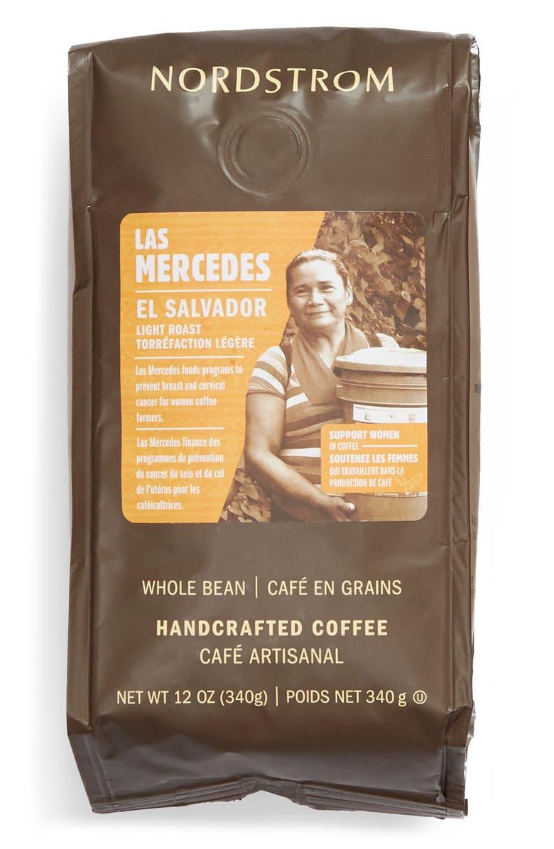 NORDSTROM 2-Pack Women Grown Las Mercedes Whole Bean Coffee, Main, color, BROWN