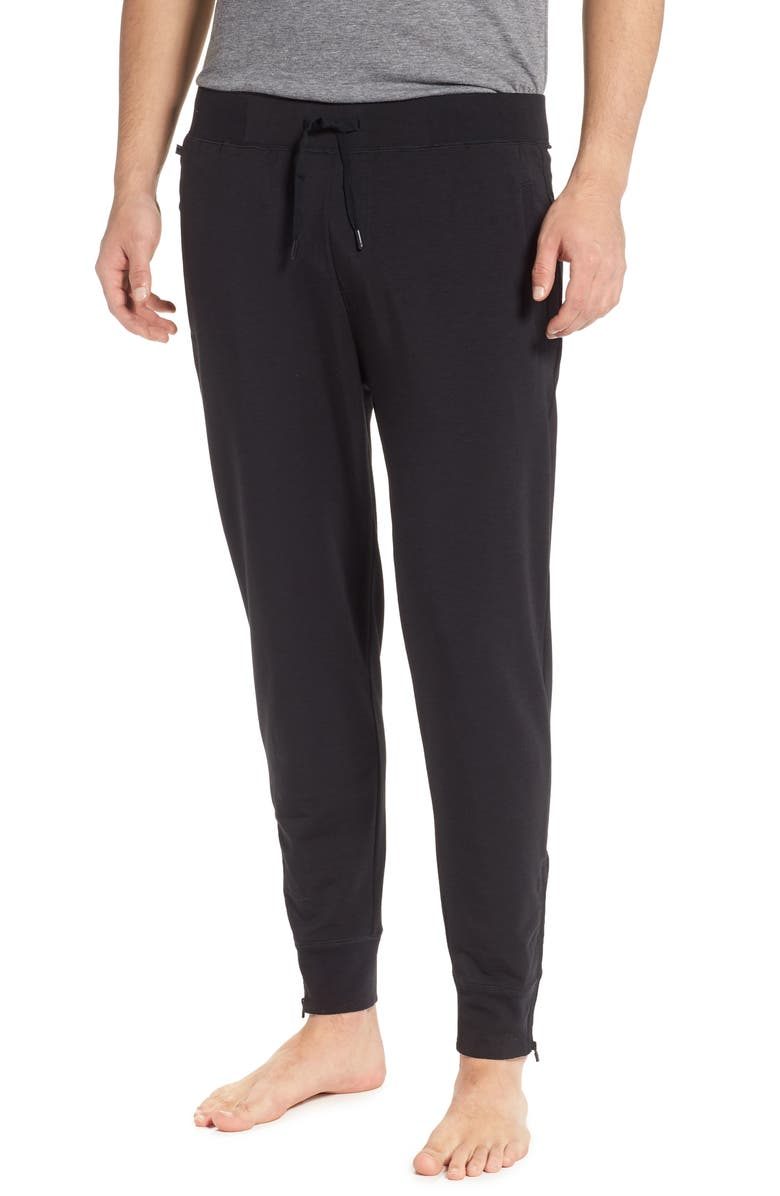 TOMMY JOHN 2.0 Jogger Pants, Main, color, BLACK