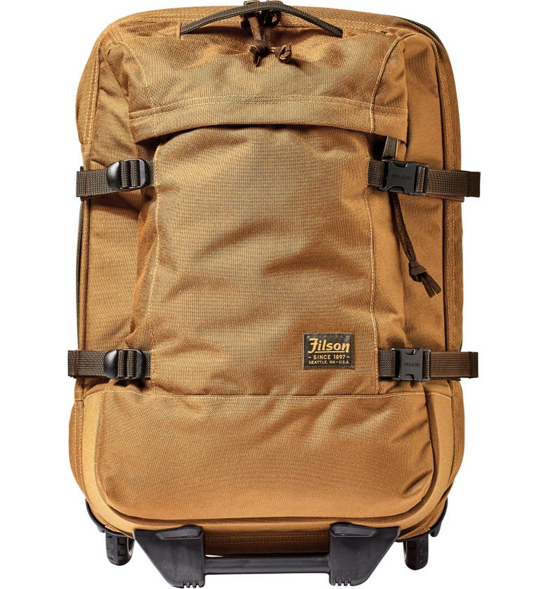 FILSON Dryden 22-Inch Wheeled Carry-On, Main, color, WHISKEY