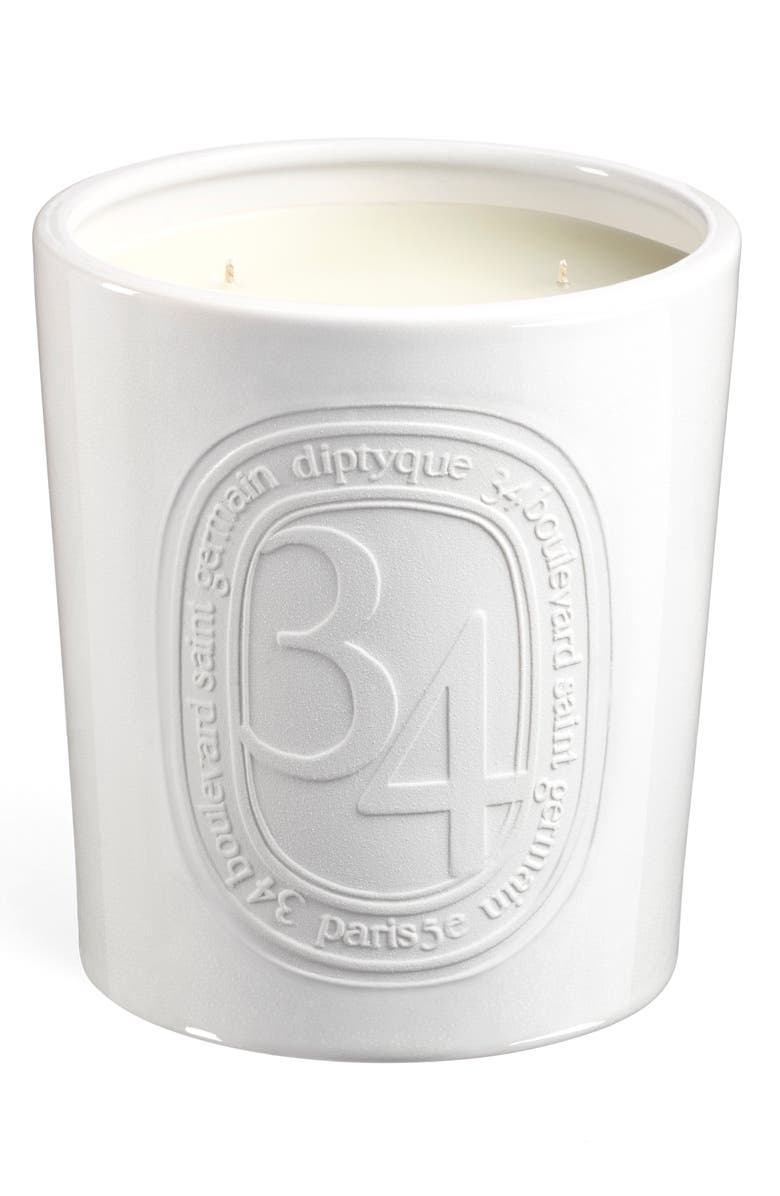 DIPTYQUE 34 Boulevard Saint Germain Large 5-Wick Indoor/Outdoor Candle, Main, color, NO COLOR