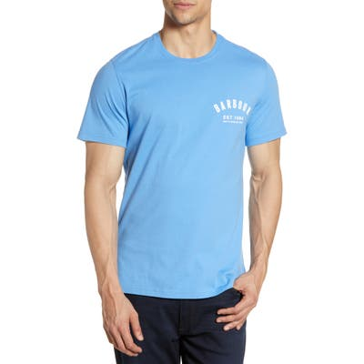 Barbour Preppy Logo T-Shirt, Blue