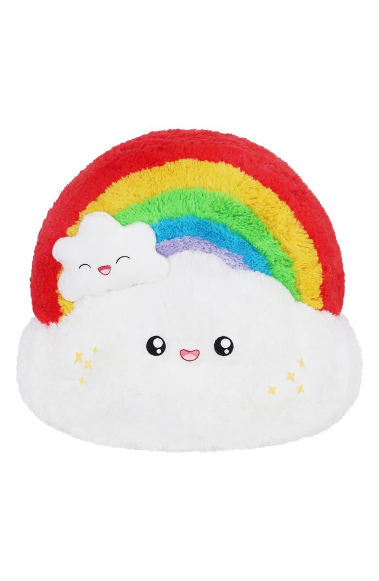 SQUISHABLE Rainbow Stuffed Toy, Main, color, 960