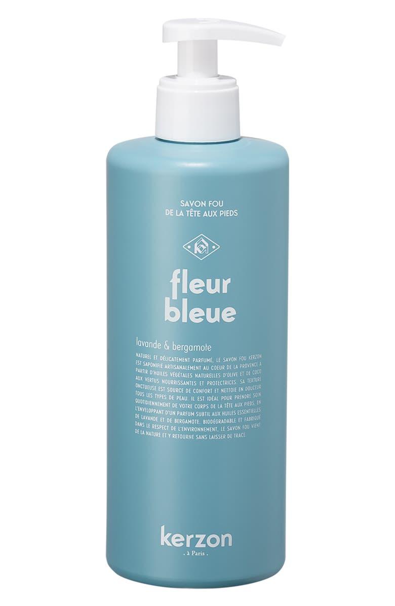 KERZON Fleur Bleue Liquid Soap, Main, color, 000