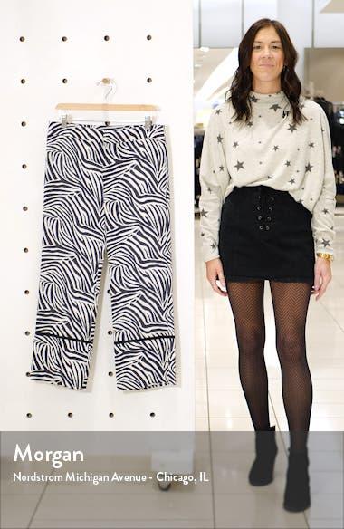 Zebra Print Crop Pants, sales video thumbnail