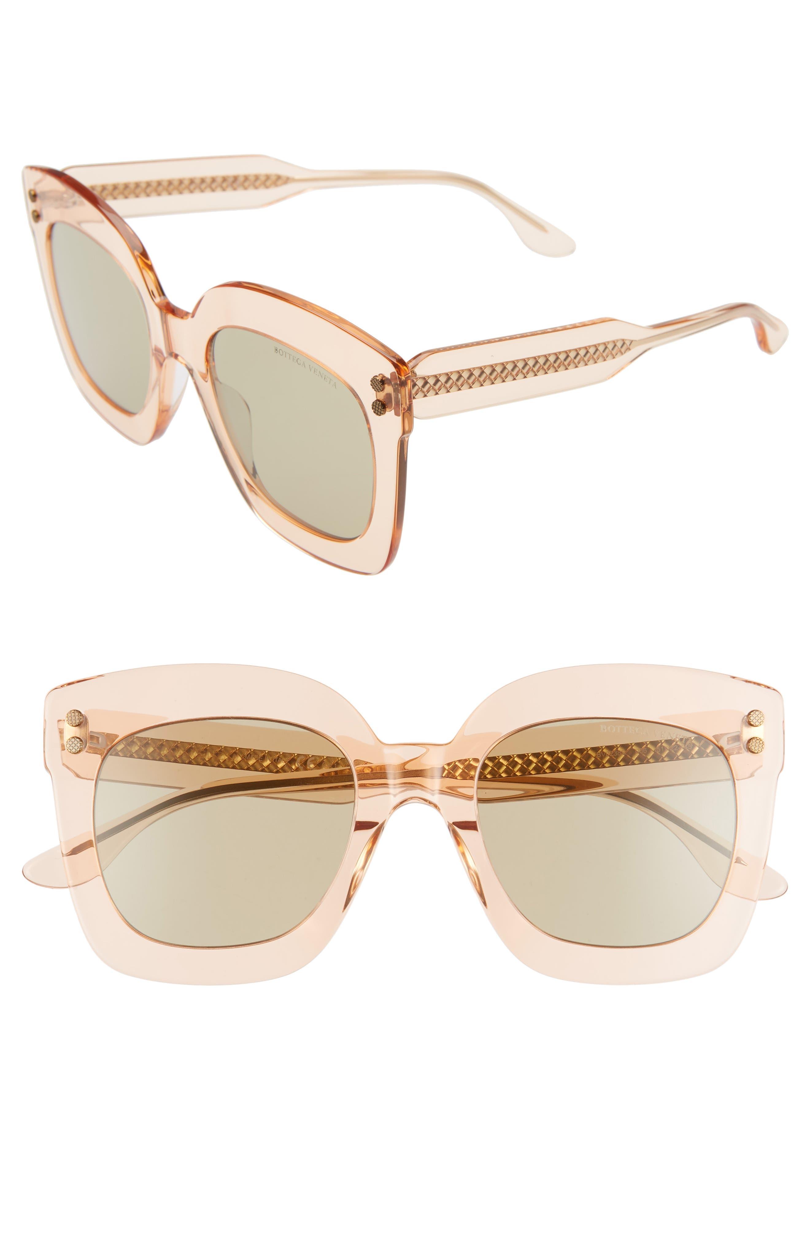 Bottega Veneta 51Mm Gradient Square Sunglasses -