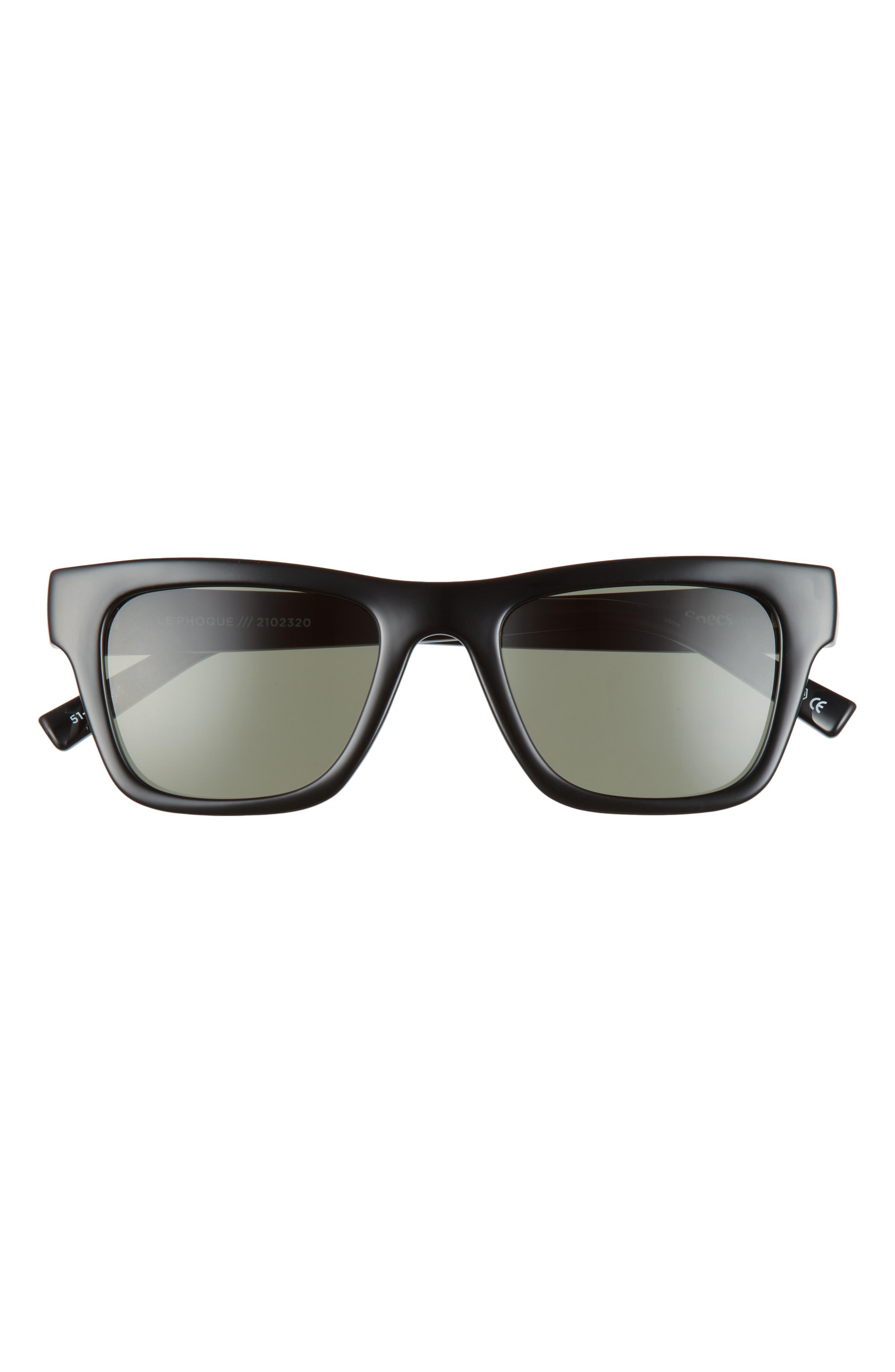 Le Phoque 51mm Rectangular Sunglasses