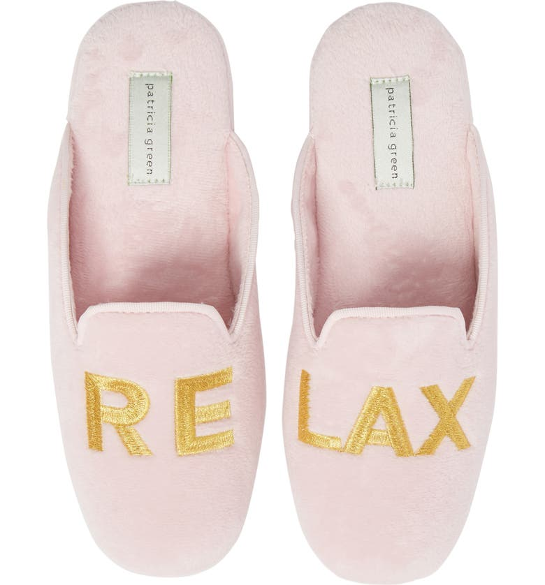 PATRICIA GREEN Relax Embroidered Mule Slipper, Main, color, 650